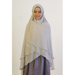 Long khimar grey